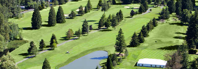 Pine Cone Nine: Aerial view of #6, #7 & #8