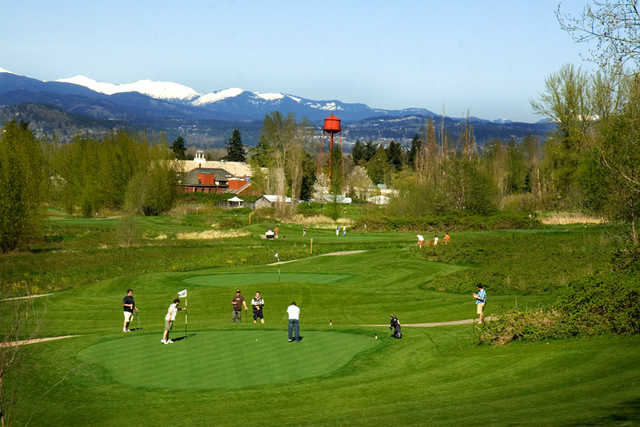 West 20 At The Pub Course At Mcmenamins Edgefield In Troutdale