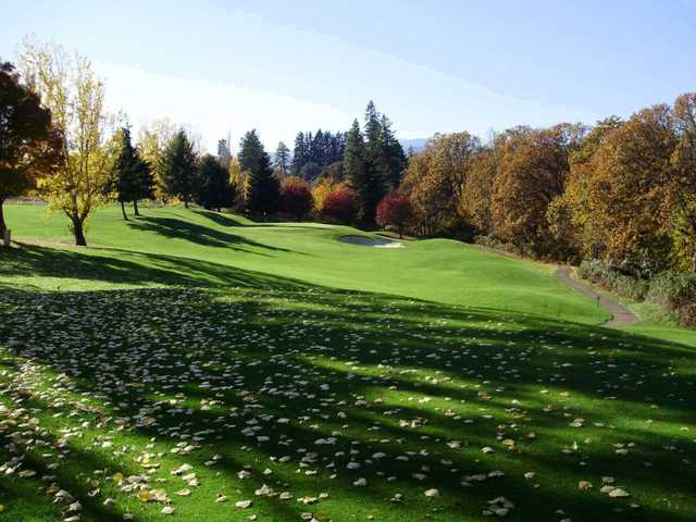 indian creek golf course in hood river