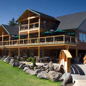 Alderbrook GC: clubhouse