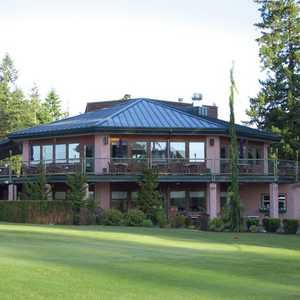 Mountain View GC: the clubhouse