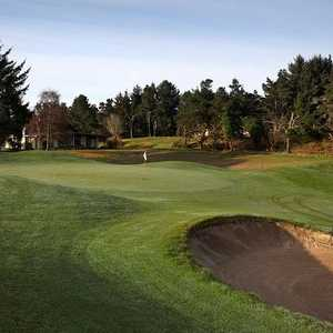 Gearhart Golf Links: 17th green