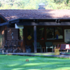 A view of the clubhouse at Laurel Hill Golf Course