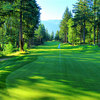 Skamania Lodge #1: The fairway drops off to the right, so the ideal tee shot is down the left side. The hole is slightly uphill from 150 yards in so you might need one extra club for your approach.