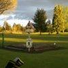 A view of tee #1 at Auburn Center Golf Club