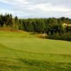 A view of a green at Crestview Golf Club