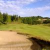 A view of a fairway at Crestview Golf Club