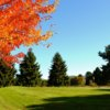 A fall view from Emerald Valley Golf Club