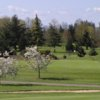 A spring view from RiverRidge Golf Complex