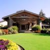 A view of the clubhouse at Tualatin Country Club