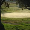 A view of a green at Shield Crest Golf Course