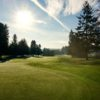 A sunny day view from Forest Hills Golf Course.