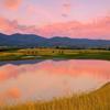 A sunset view from Centennial Golf Club.