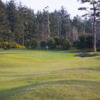 A view of hole #2 from Shorty's at Bandon Dunes Practice Center.
