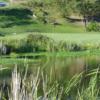 View of a green at  Dutcher Creek Golf Course.