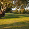 A view from a fairway at Chinook Winds Golf Resort