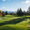 A fall day view of a hole at Rogue Valley Country Club.