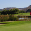 A view of two holes at Meadow Lakes Golf Course.