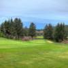 A view of a green on the Salishan Golf Links