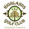 Highlands Golf Club Logo