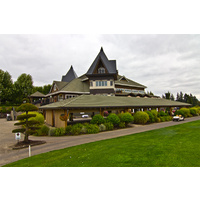 Your round at The Reserve Vineyard and Golf Club begins at the clubhouse.