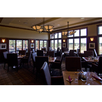 The restaurant and bar at Tetherow Golf Club offer a wide variety of selections.
