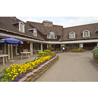 Here is a look at the clubhouse at Eastmoreland Golf Course in Portland, Oregon.