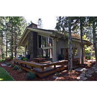 This is one of the cottages on the Big Meadow Golf Course at Black Butte Ranch.