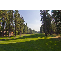 The third hole on the Big Meadow Golf Course at Black Butte Ranch is a par 5.