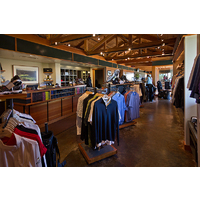 Here's a look at the pro shop for the Bandon Trails course at the Bandon Dunes Golf Resort.