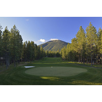 The seventh on the Glaze Meadow golf course at Black Butte Ranch is a 525-yard par 5.
