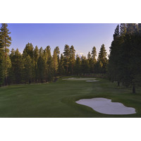 At 612 yards, the par-5 13th is the longest hole on the Glaze Meadow golf course at Black Butte Ranch.