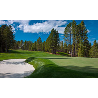The finishing hole on the Glaze Meadow Course at Black Butte Ranch is a testy 432-yard par 4.