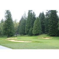 The second of back-to-back par 5s on the Pine Cone Nine is the 569-yard sixth hole.