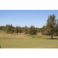 Mountain and juniper forest views are abundant on the Challenge Course at Eagle Crest Resort in Redmond, Oregon.